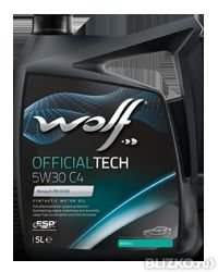 Моторное масло WOLF OFFICIALTECH 5W30 C4 1L