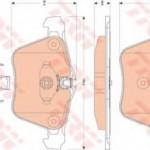 Колодки тормозные JAGUAR FX 09-/XJ 10- передние