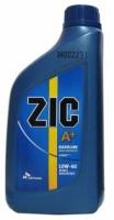 Полусинтетическое моторное масло ZIC A+ 10W-40 1л