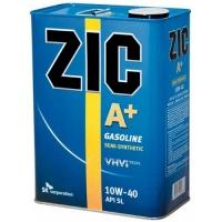 Полусинтетическое моторное масло ZIC A+ 10W-40 4л