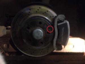 Замена тормозных дисков мерседес