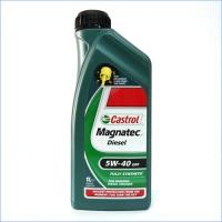 Синтетическое моторное масло Castrol Magnatec Diesel 5W40 DPF 1л