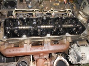 Ремонт двигателя с запчастями