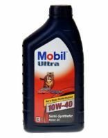 Полусинтетическое моторное масло Mobil Ultra 10w-40 1л