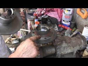 Замена тормозных дисков передних мерседес